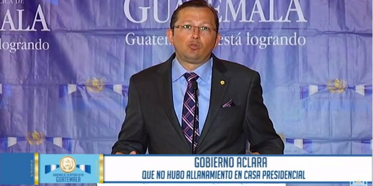 """Videos de 2016 contradicen al presidente Morales sobre los """"allanamientos ilegales"""" en Casa Presidencial"""