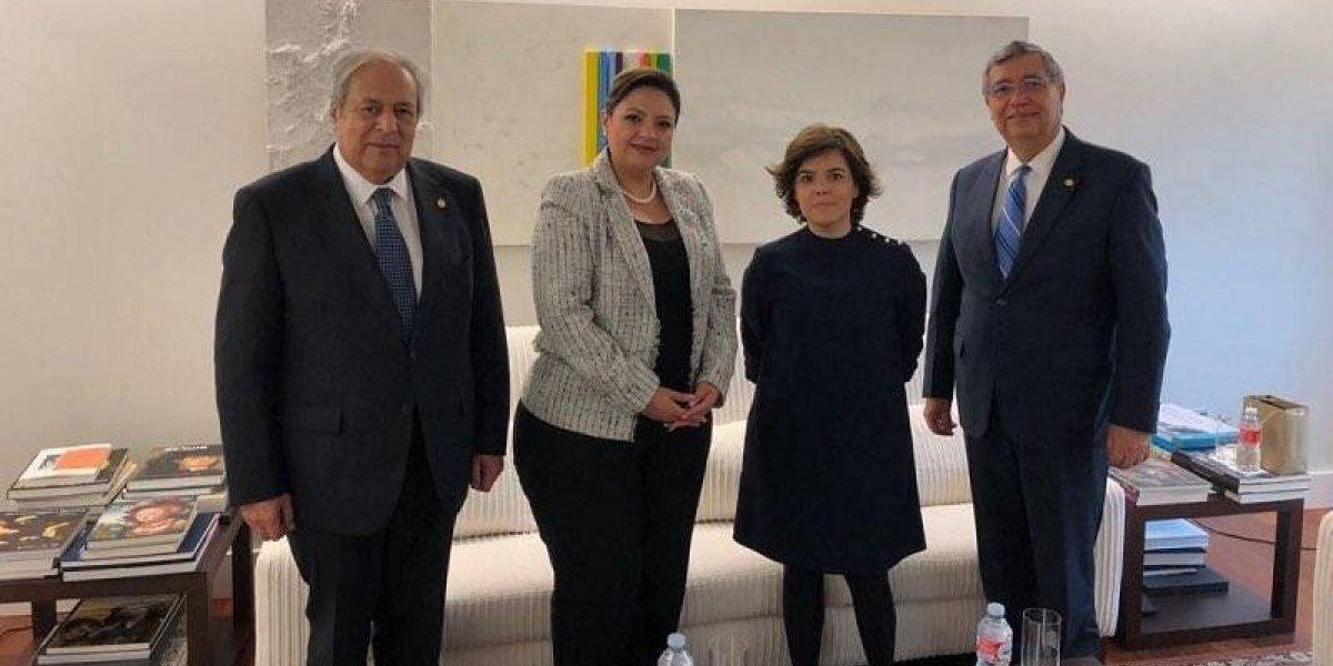 Vicepresidente y canciller guatemaltecos realizan visita oficial a España