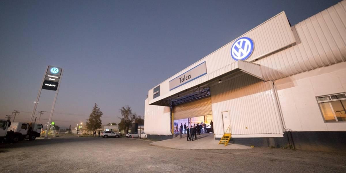 Talca tiene nuevo punto de venta y servicios de Man y Volkswagen buses y camiones