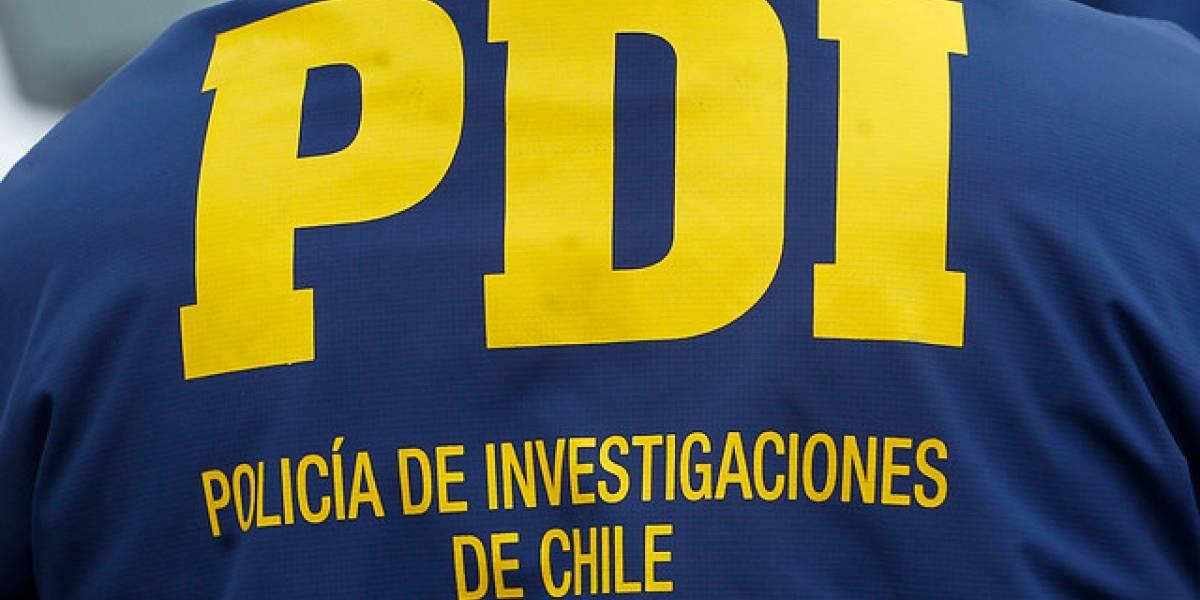 Policía de Investigaciones detuvo en El Quisco a prófugo que abusó sexualmente de su sobrina