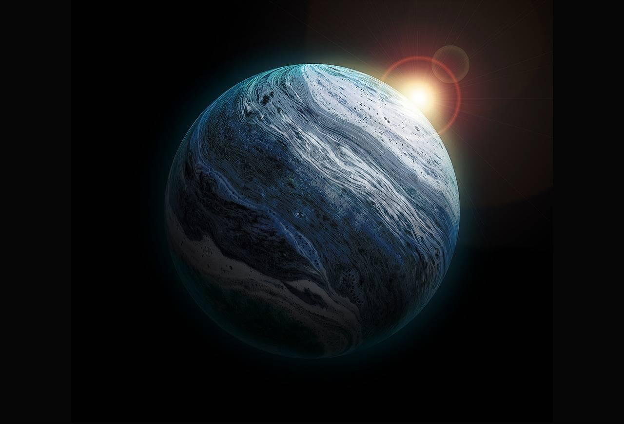 Dos estrellas de Neutrones chocaron cerca del sistema solar hace miles de millones de años