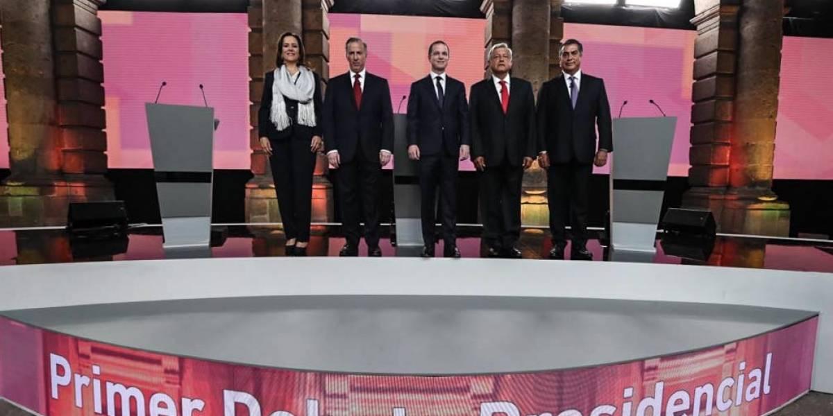 López Obrador, el más atacado durante el debate