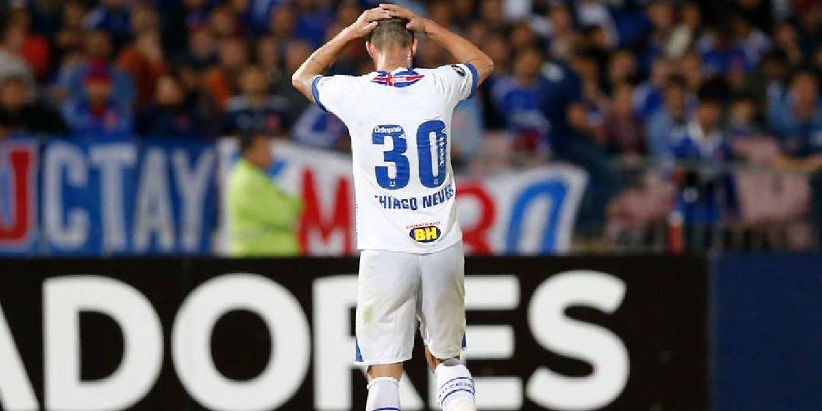 Cruzeiro llega en su peor momento a enfrentar a la U por Libertadores
