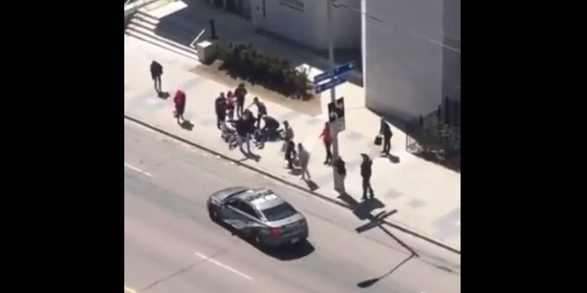 Toronto: Una camioneta chocó a una decena de peatones