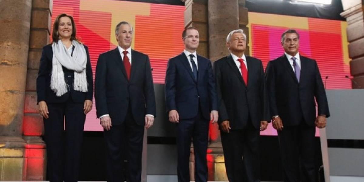 Estas son las mentiras de los candidatos en el primer debate presidencial