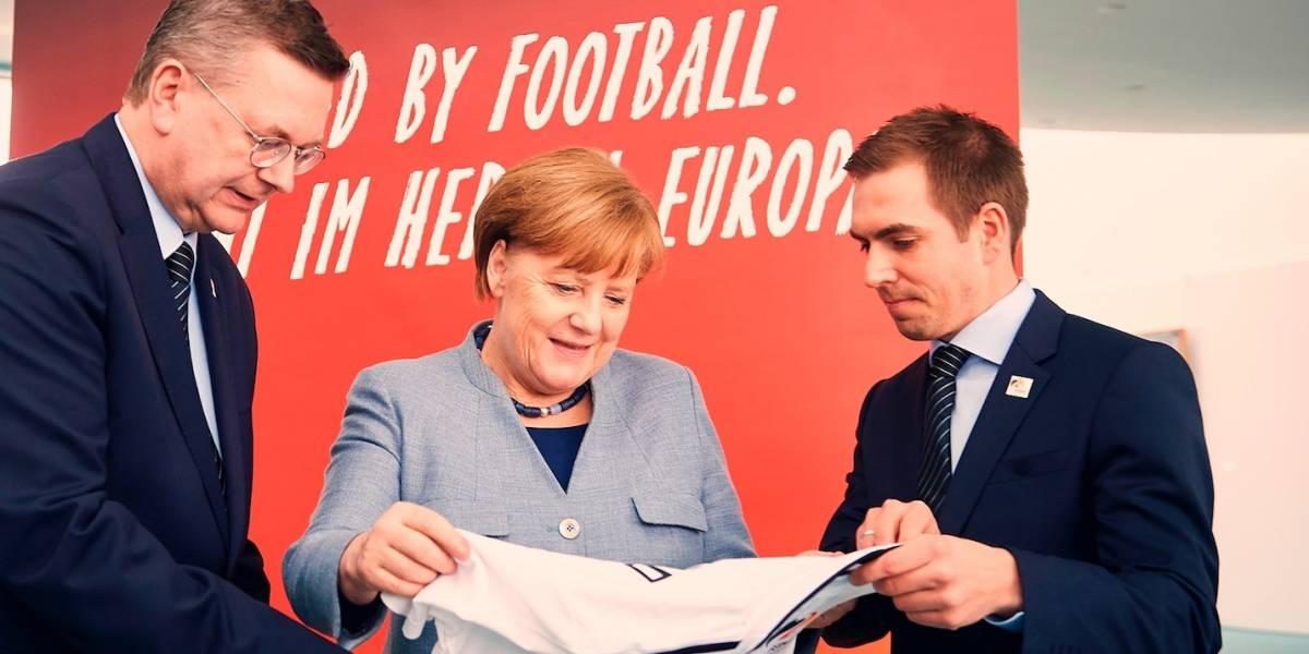 Alemania desea unir al continente con la Eurocopa