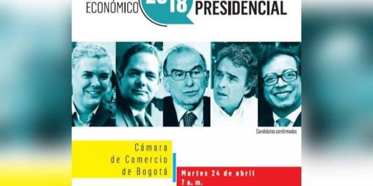 Los candidatos expondrán sus propuestas económicas en el debate de la Cámara de Comercio de Bogotá