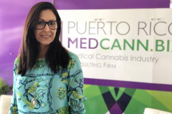 Ingrid Schmidt, presidenta de la Asociación de Cannabis Medicinal / Foto: David Cordero Mercado