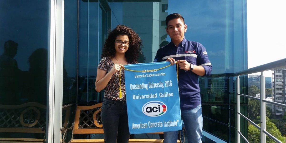 Estudiantes de la Galileo reciben premio del American Concrete Institute