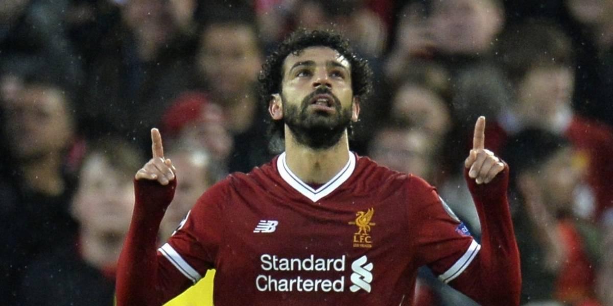 Salah acerca al Liverpool a la final de la Champions League
