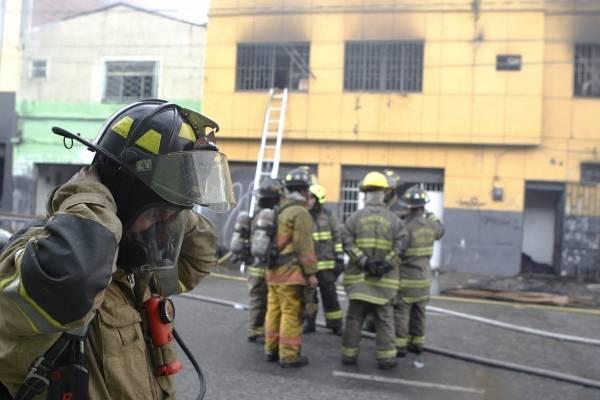 incendio en Medellín