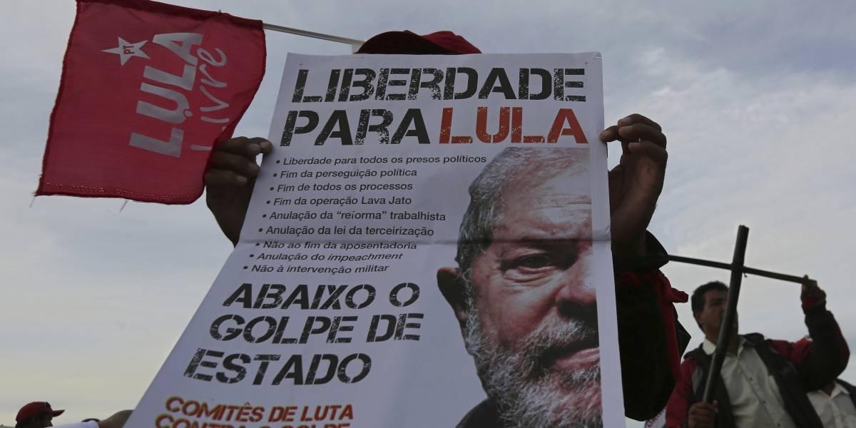 Desde prisión: Lula da Silva pide a su partido que elijan a otro candidato presidencial