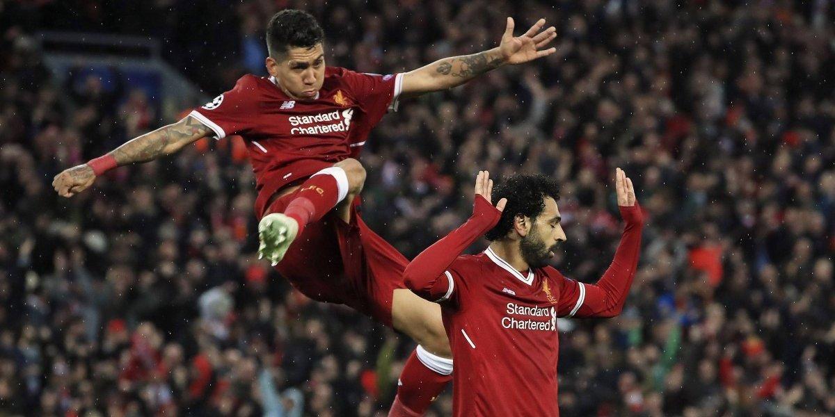 El show de Salah dejó a Liverpool con un pie en la final de la Champions League
