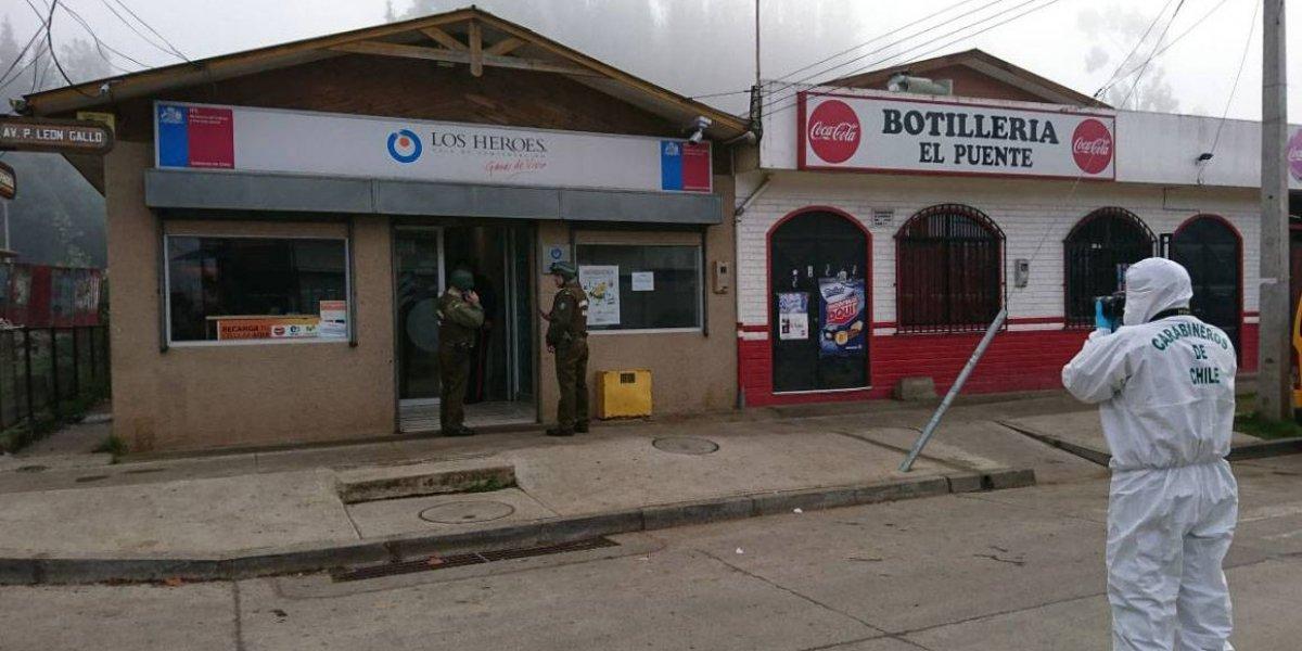 Asalto en Galvarino: CAM descarta vínculos con uno de los detenidos