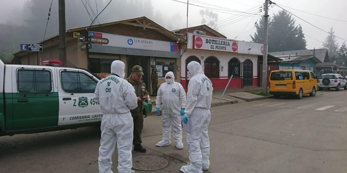 Violento asalto a caja de compensación en Galvarino: carabinero resulta herido tras enfrentamiento a balazos con delincuentes