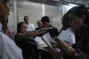 Audiencia sótano de Tribunales
