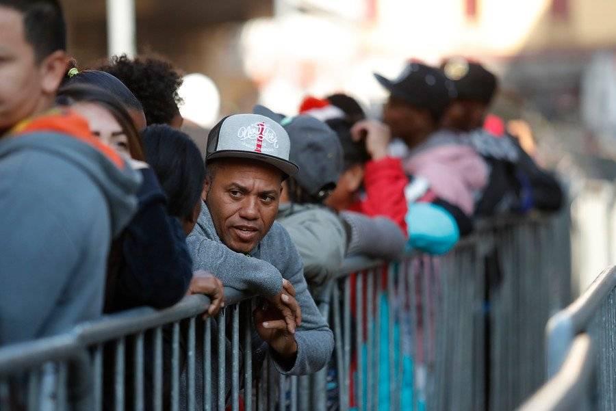 Migrantes en registro