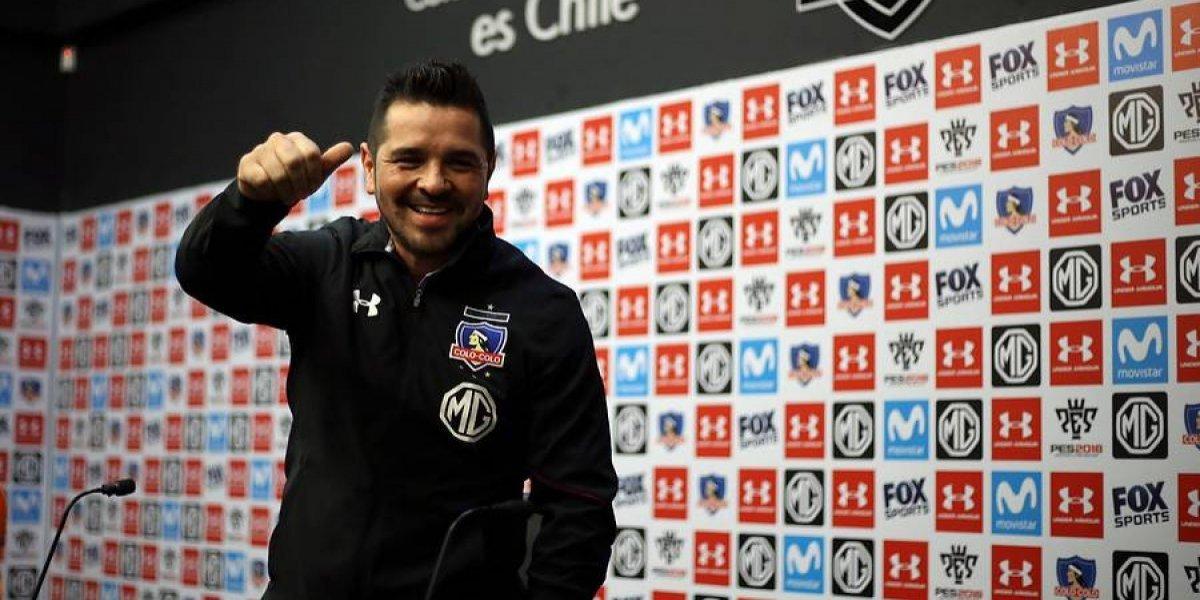 """Héctor Tapia en su retorno a Colo Colo: """"Voy a hacer todo lo posible para que el club crezca, en todo sentido"""""""