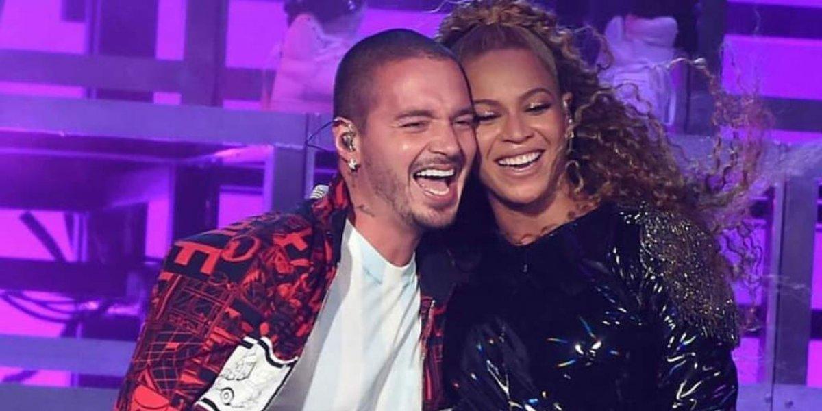 """VIDEO. Beyoncé pone nervioso a J Balvin con sensual baile al ritmo de """"Mi gente"""""""