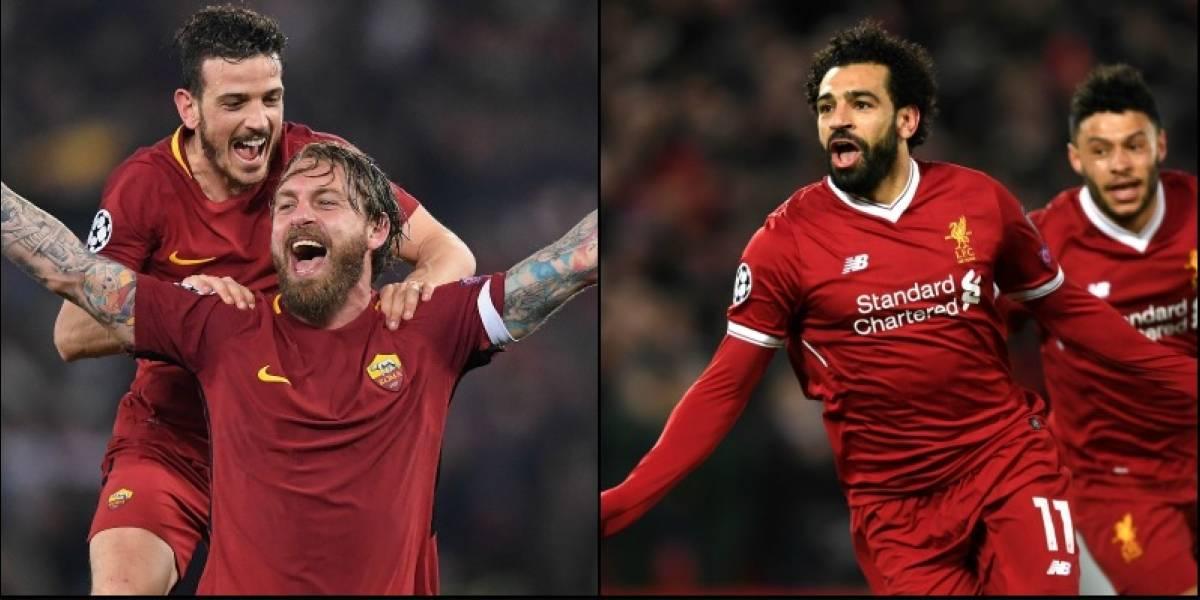 Los sorprendentes Liverpool y la Roma van por la gloria en la semifinal de la Champions League