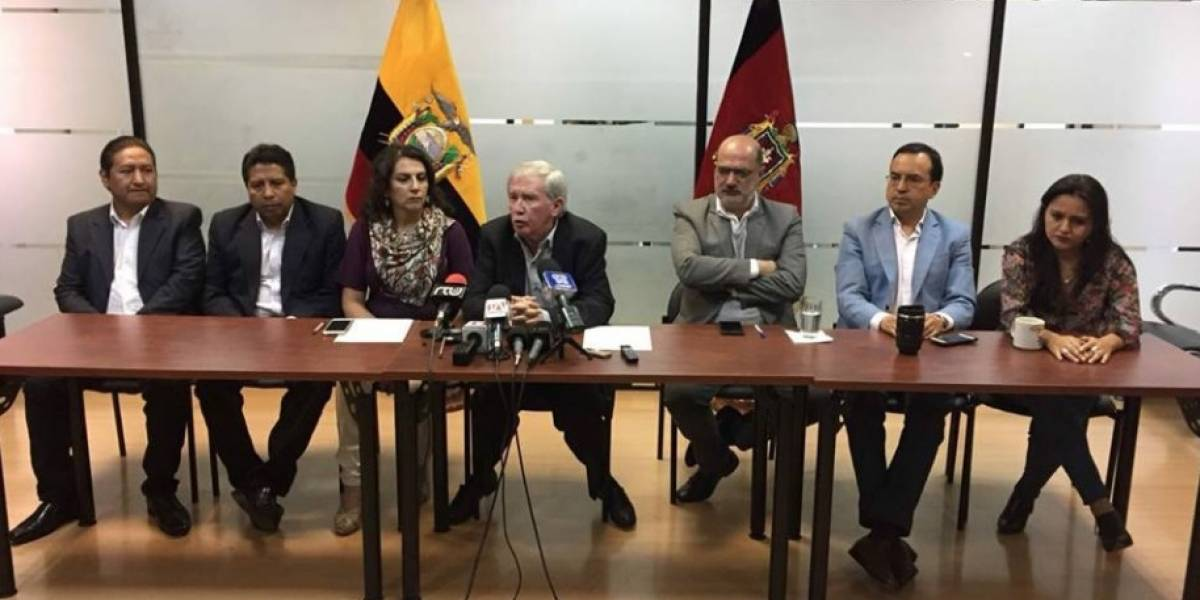 Concejales piden que alcalde de Quito dé un paso al costado