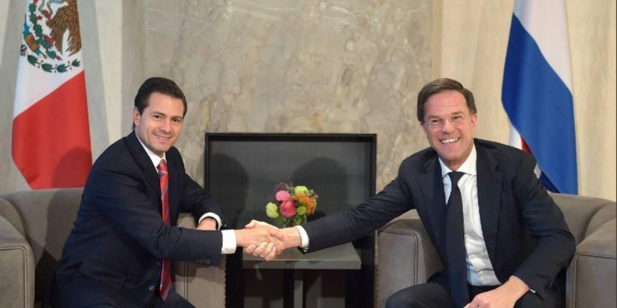 Acuerdan México y Holanda mayor cooperación comercial y energética