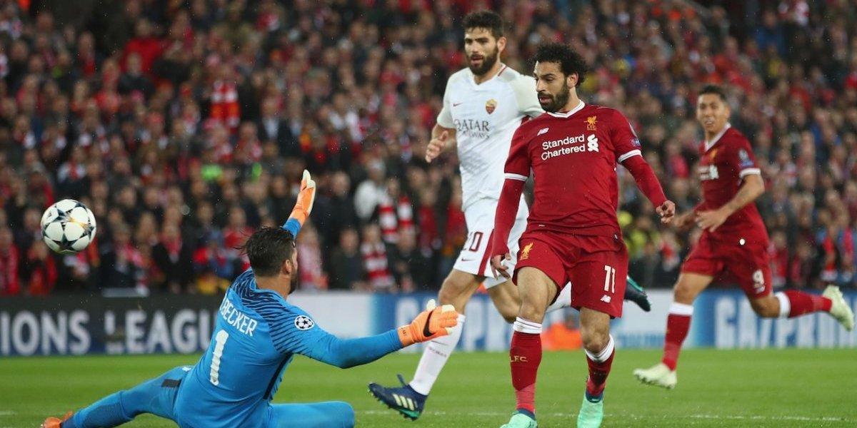 ¡Salah y comedor! Liverpool le dio un baile de novela a la Roma, pero…