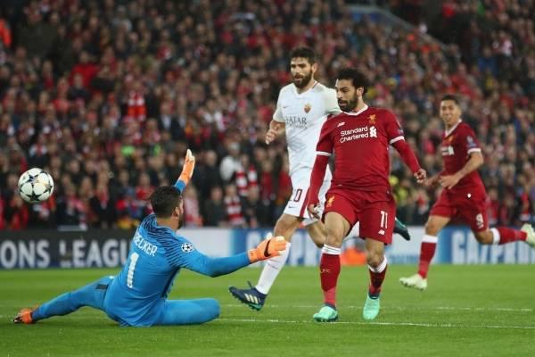 Video de los goles de Liverpool 5-2 Roma