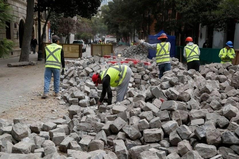 Reanudan obras en Barrio Lastarria
