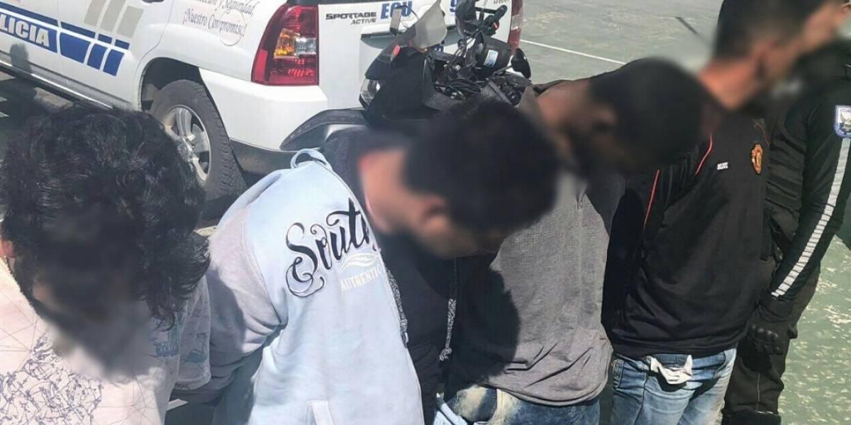 Quito: Policía captura a banda delictiva al cometer un atraco en bus