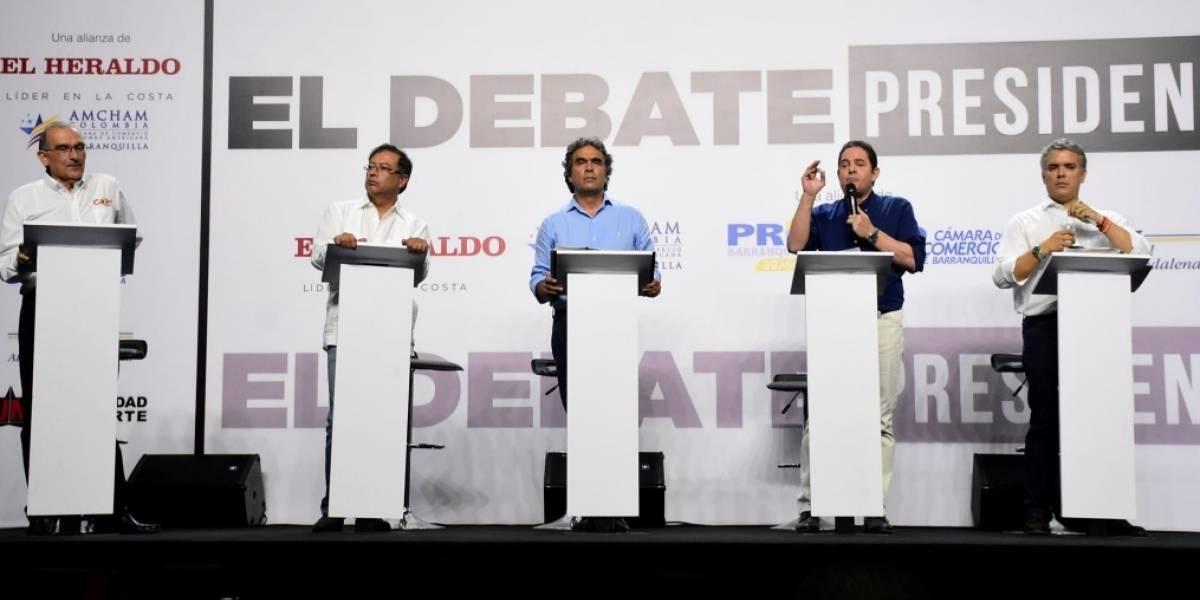 Debate presidencial de La W Radio y El Tiempo sobre economía