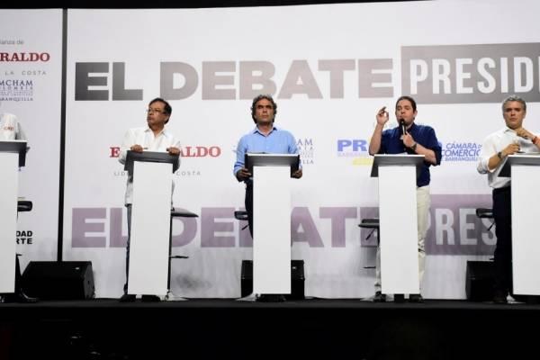 Candidatos a la Presidencia
