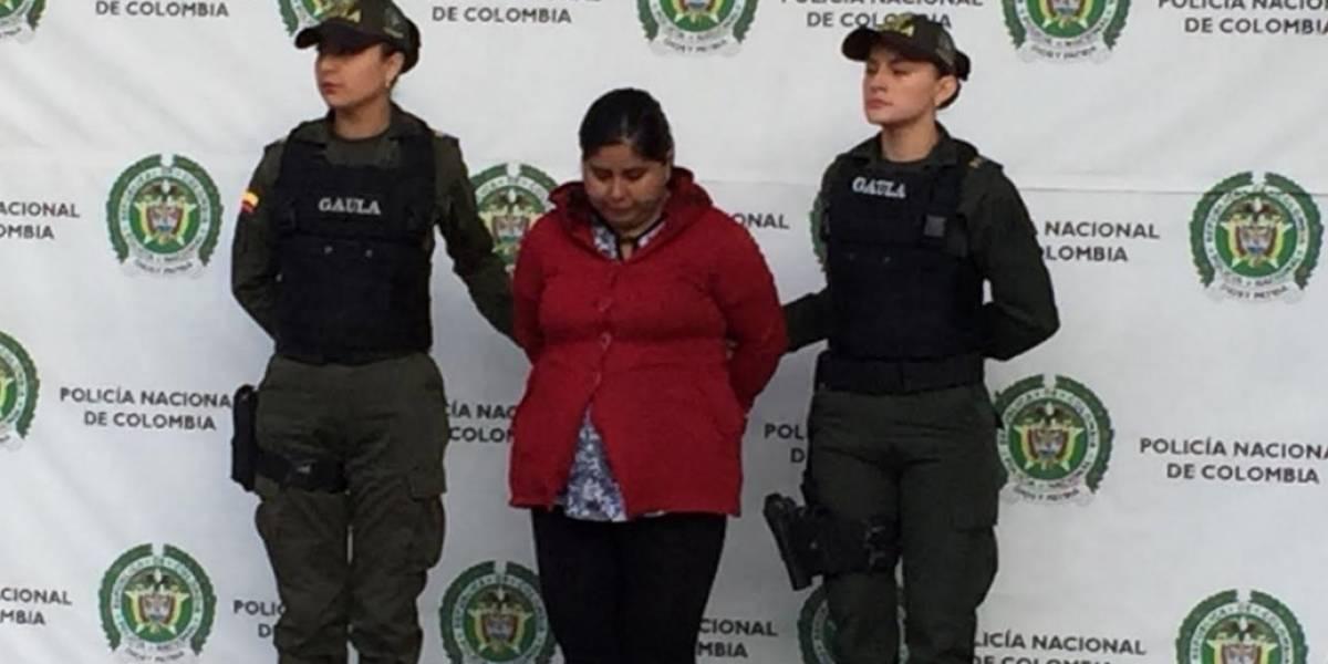 Juez deja libre a mujer que raptó bebé de dos meses en Bogotá