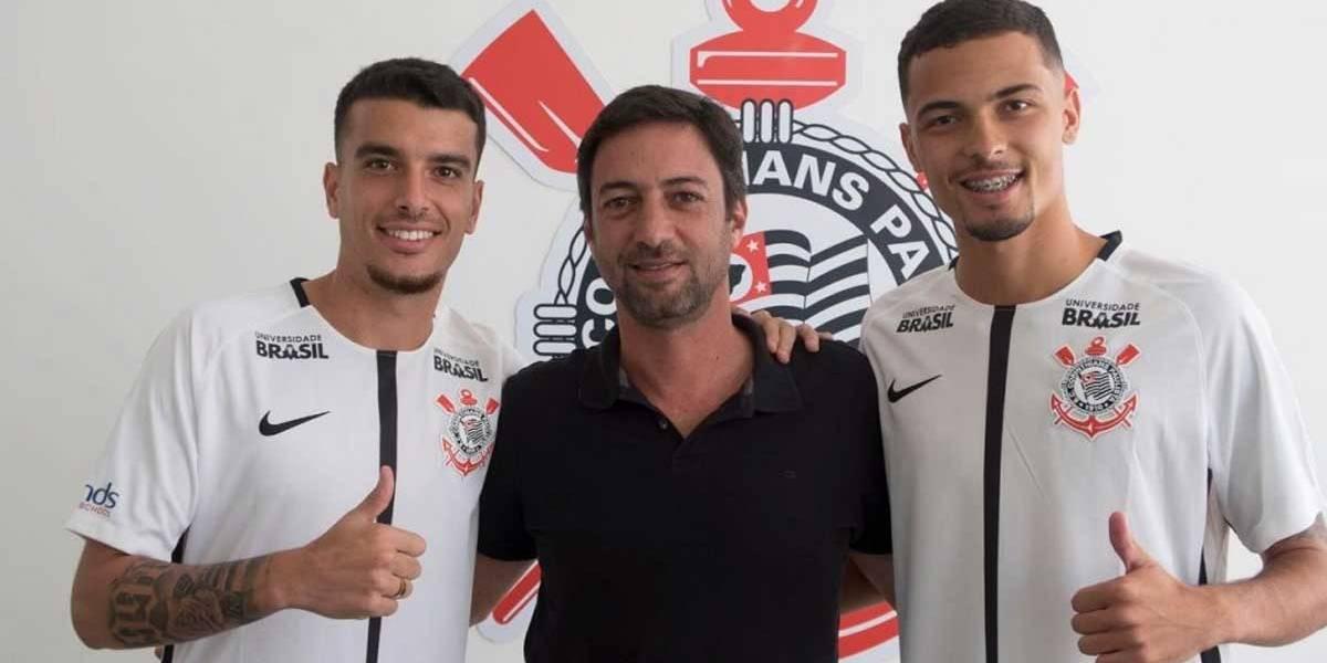 Corinthians anuncia a contratação de dupla do Nacional-SP