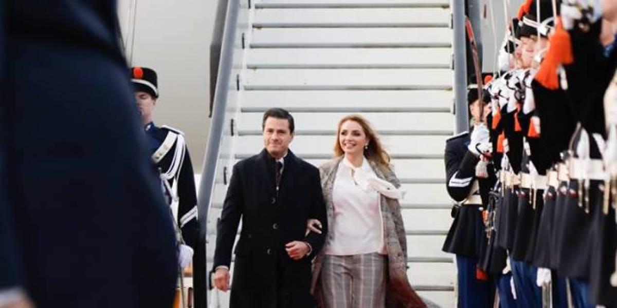 Reyes de los Países Bajos reciben al presidente Enrique Peña Nieto