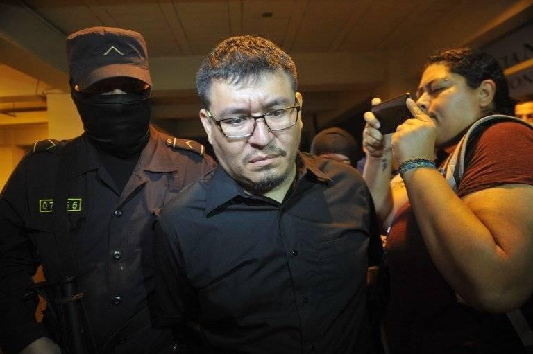Mario Alberto Huezo Portillo, esposo de la fallecida periodista Karla Turcios