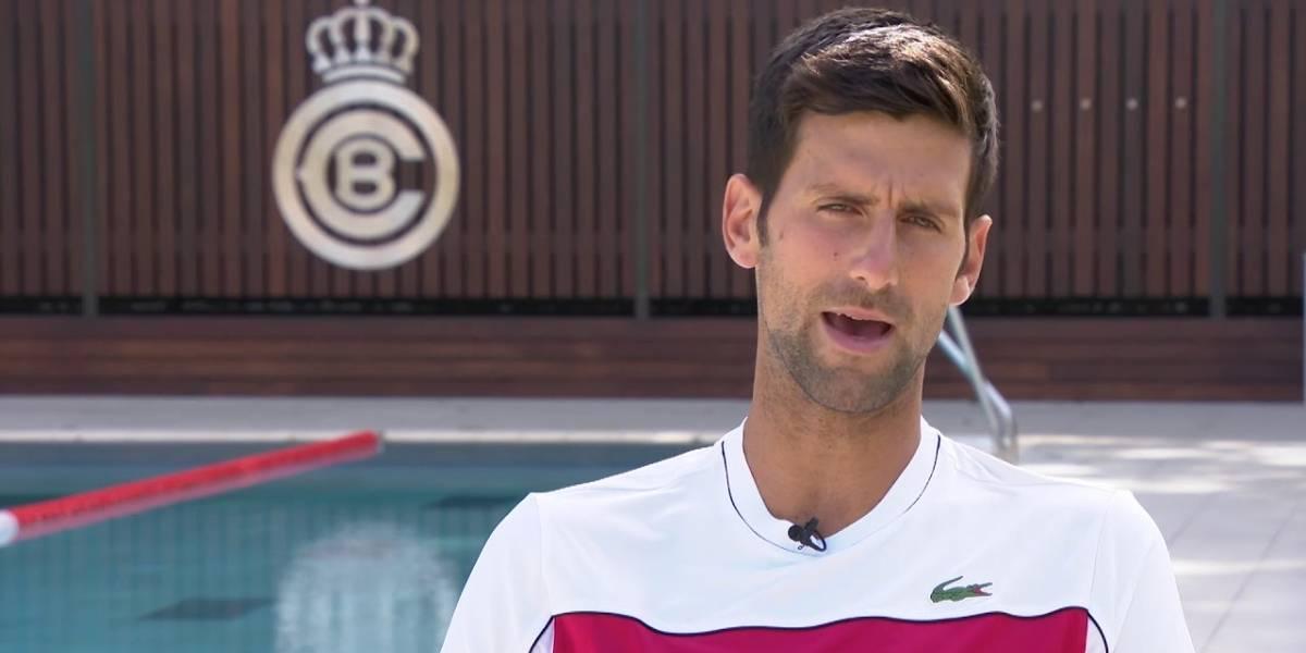 Djokovic preparado para jugar ante Rafa Nadal
