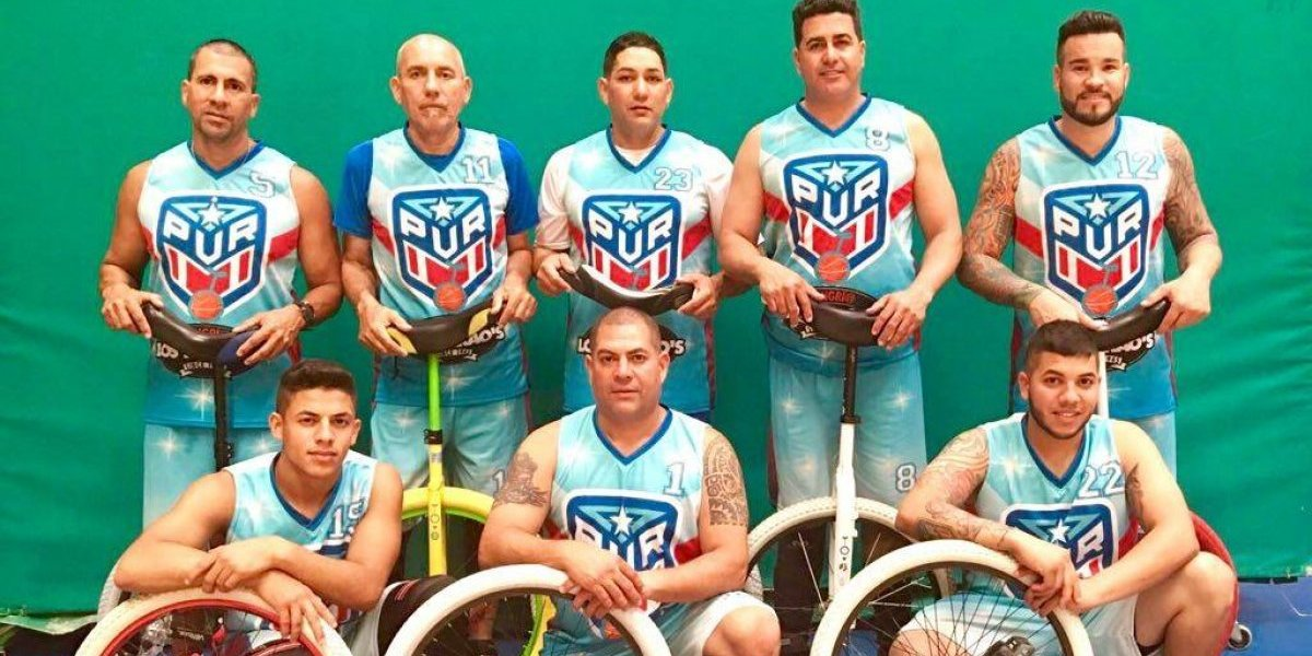 Equipo nacional de baloncesto montado en uniciclo logra bronce