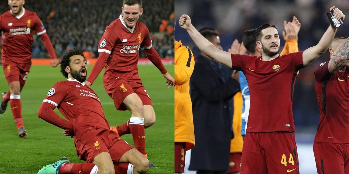 AS Roma y Liverpool, duelo de históricos en semifinales de Champions League