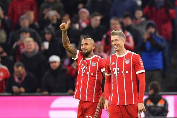 Vidal no podrá estar en la Champions / imagen: Getty Images