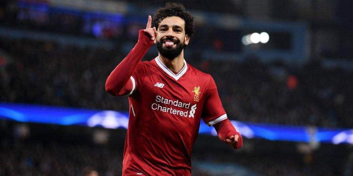 Mohamed Salah asombra el mundo: es el jugador del momento y goleador de la temporada europea
