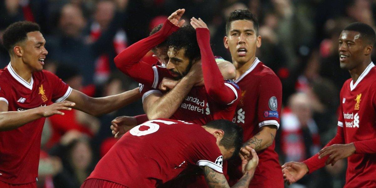 Minuto a minuto: Liverpool golea a la Roma en Champions gracias a un doblete y dos asistencias de Salah
