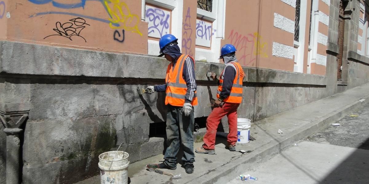 ¿Cuánto le cuesta a Quito eliminar los grafitis?