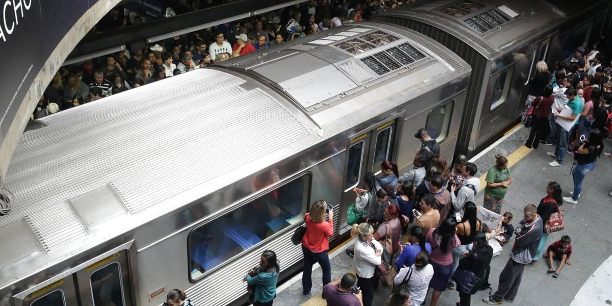 Falha no Metrô: três linhas operam com velocidade reduzida