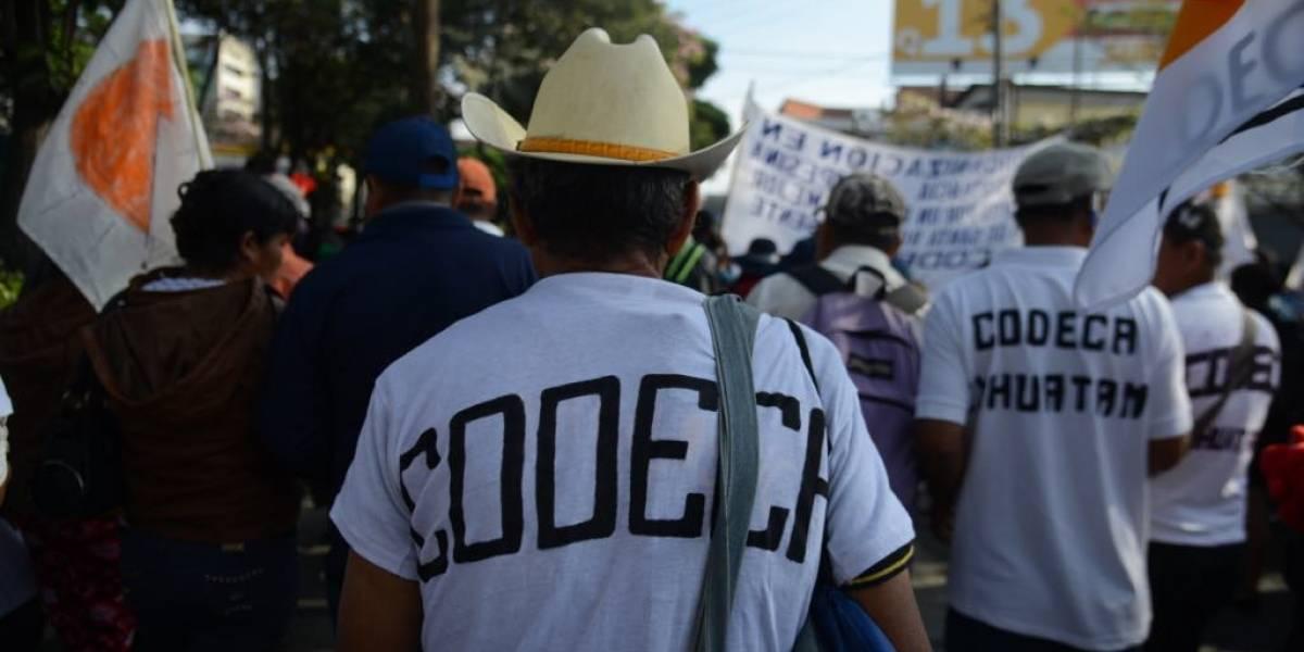 """Codeca inicia """"paro nacional"""" con campamento desde hoy a las 10 de la noche"""