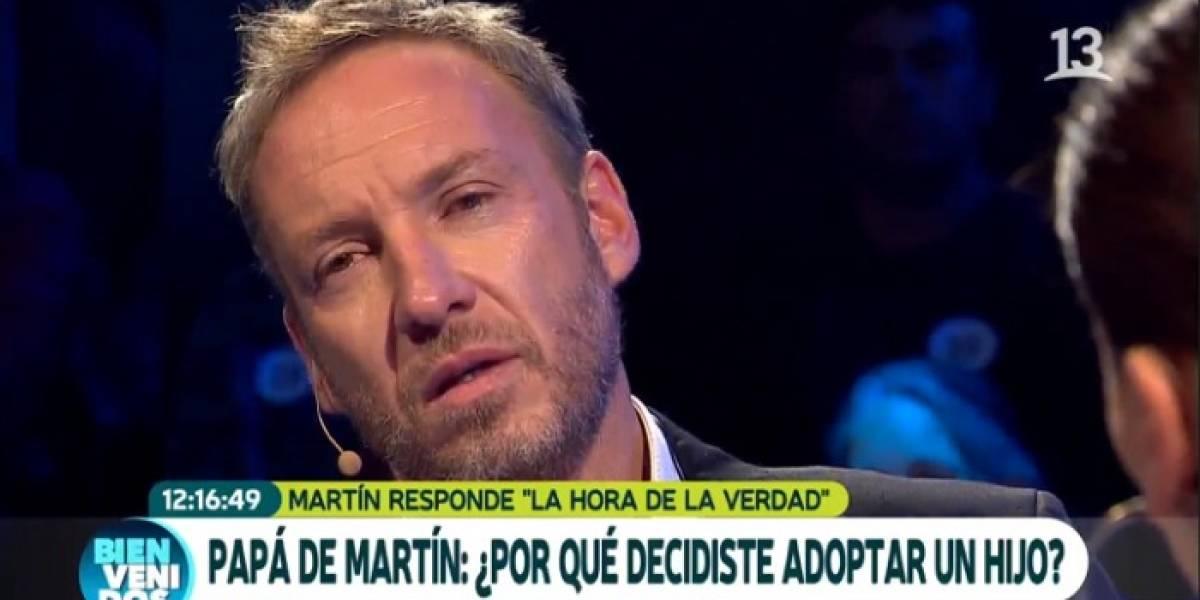 """""""Fue una experiencia muy larga, muy dura"""": La emoción de Martín Cárcamo al recordar lo que vivió en Haití al adoptar a su hijo"""