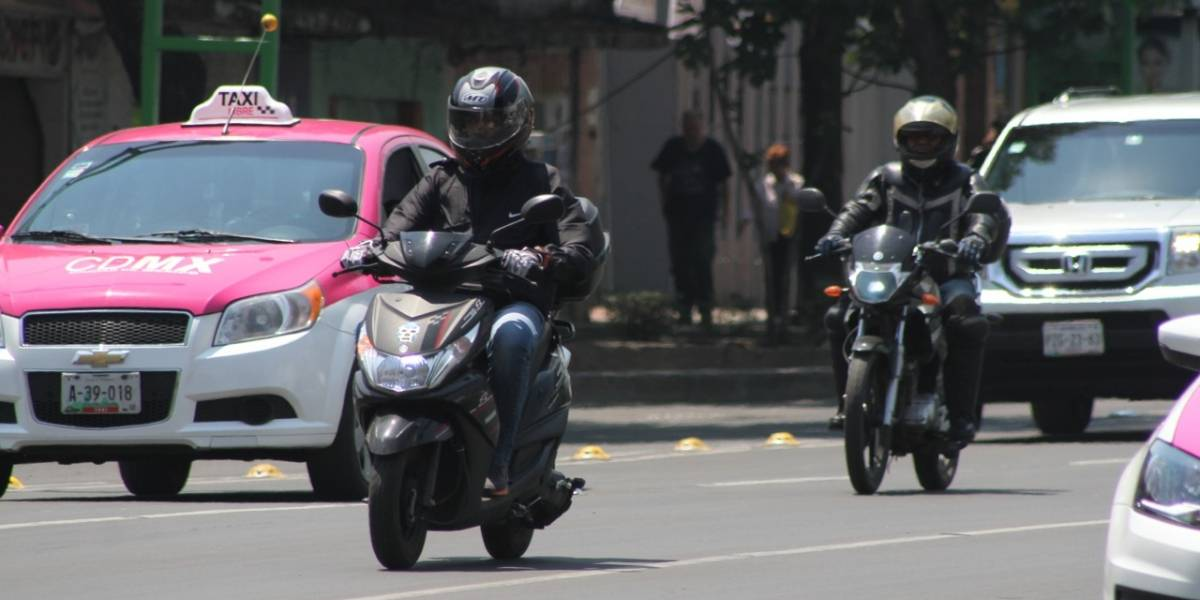 Al día 5 motos son robadas en la CDMX; algunas se utilizan para delinquir