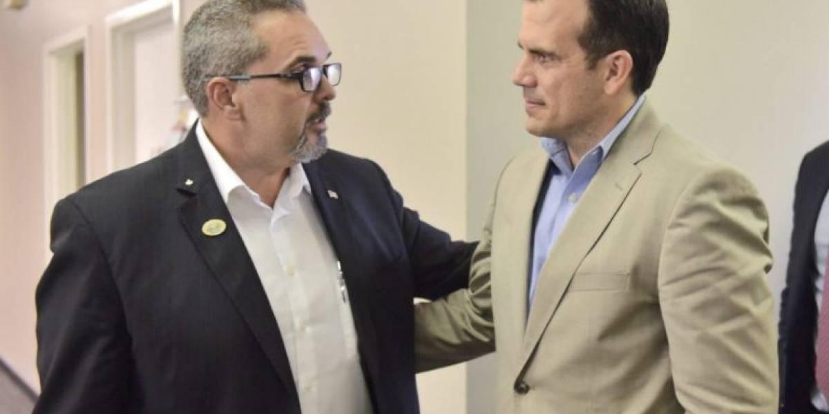 Gobernador se reúne con el alcalde de Kissimmee
