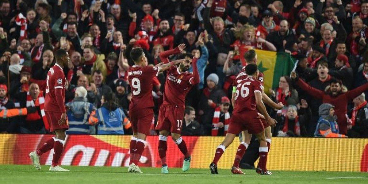 Liverpool aplasta a la Roma