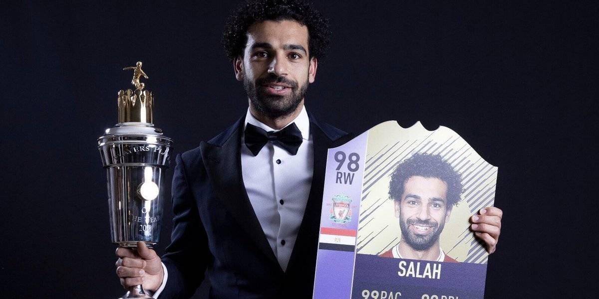 Salah supera a Messi en el FIFA 18